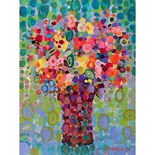 Iejsgfj 5D DIY Diamant Schilderen Volledige Boor Cross Stitch Kit voor Volwassenen Art vaas Mozaïek Kristal voor kinderen Strass Foto's door Numbers Kunst Ambacht voor Muursticker Home Decor