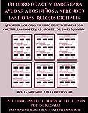 Fichas imprimibles para preescolar (Un libro de actividades