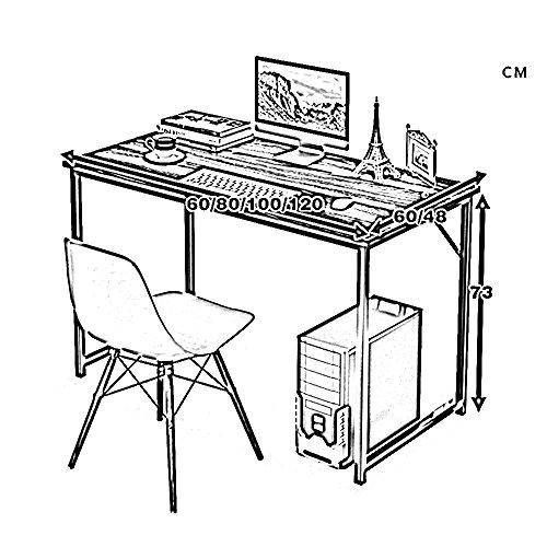 Mesa HUO Escritorio de la computadora Escritorio pequeño ...
