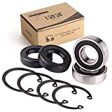 10L0L Golf Cart Rear Axle Bearing & Seal for EZGO Marathon, Medalist & TXT Electric Carts 1978 UP, Bearing Shaft Kit Replace OEM# 611931,70181-G01,15112G1,230-889,82705-78(2 Pack)