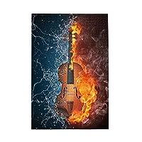 1000ピース ジグソーパズル 水と炎 バイオリン ジグソーパズル 木製パズル Puzzles 50x75cm(6歳以上が適しています)