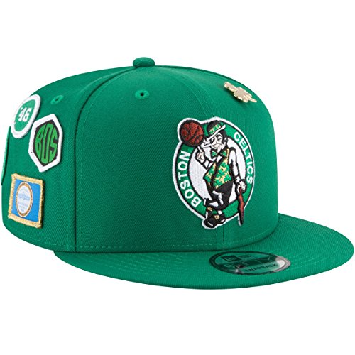 New Era Boston Celtics 2018 NBA Draft Cap 9FIFTY Snapback Adjustable Hat- Green