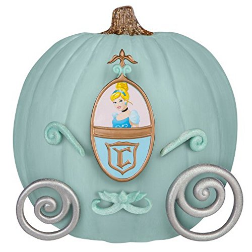 Disney Princess Cinderella Prinzessin in der Kutsche Pumkin Push In Kürbis Dekorations Kit