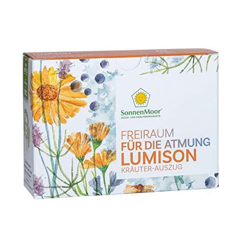 SonnenMoor flüssiger Kräuterauszug Lumison -Freiraum für die Atmung - 3 x 100 ml zum Einnehmen, hergestellt im österreichischen Familienbetrieb