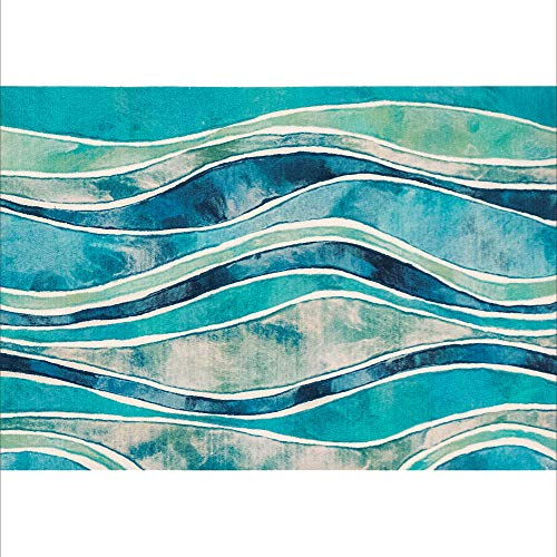 Liora Manne Illusions Wave Indoor Outdoor Washable Area Rug, 1'7.5