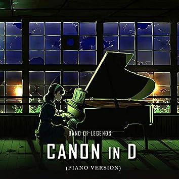 Canon in D (Piano Version)