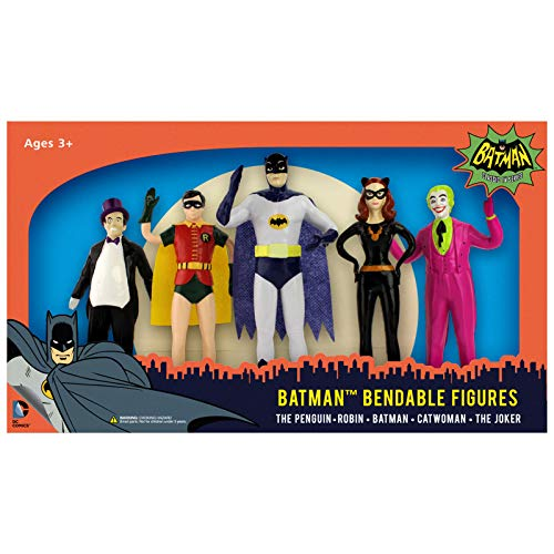 NJ Croce Batman 1966Bendable Boxed Set