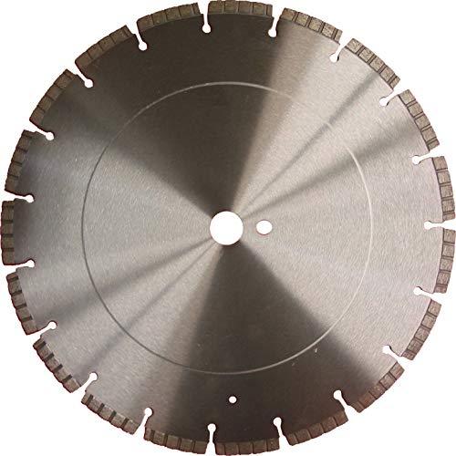 Diamanttrennscheibe Trennscheibe WTB_Ø 400 mm, B= Ø 25,4 mm, Profi Qualität, Lasergeschweißte Turbosegment 10 mm,Beton, Beton armiert, Natur- und Kunststein, Ziegel, Universal,