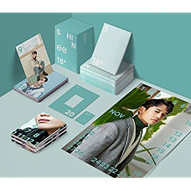 SHINee - 2018 Season's Greetings 12 Monthly Planner+12 Photocards+12 Posters(On Pack)+Free Gift