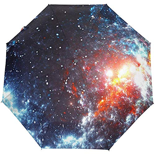 Galaxy Stars Sternenhimmel Universum Raum Auto Öffnen Schließen Sonne Regen Regenschirm