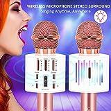 Immagine 2 karaoke microfono wireless bluetooth 3