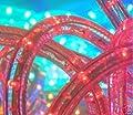 """CBConcept® 25 Feet 110V-120V 2-Wire 1/2"""" LED Rope Light, Christmas Lighting, Indoor / Outdoor rope lighting"""