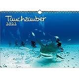 Calendario 2022 subacuático y buceo, DIN A3, set de regalo,...