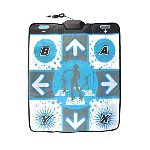 Ba30DEllylelly Antideslizante Dance Revolution Pad Mat Dancing Step para Nintend para Wii para PC TV Los Mejores Accesorios para Juegos de Fiesta