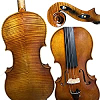 バイオリンセット 琥珀専門バイオリン30年塗られた木の天然乾燥バイオリン
