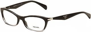 NEW Prada Eyeglasses VPR 15P Black ZYY1O1 VPR15P 53mm