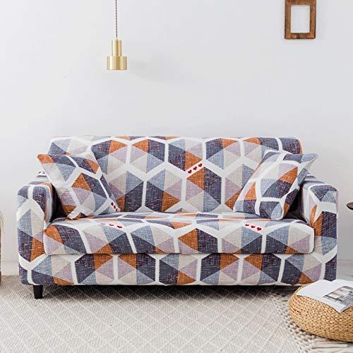 WXQY Fundas elásticas Funda de sofá elástica para Mascotas Funda de sofá con protección para Mascotas Funda de sofá con Todo Incluido en Forma de L Fundas de Muebles A10 4 plazas