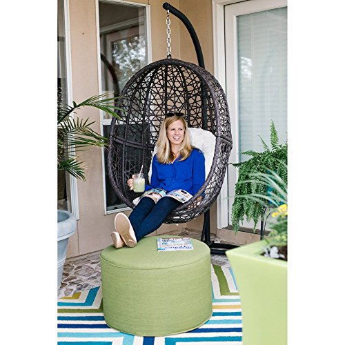 Resin Wicker Hanging Egg Chair Outdoor Patio Furniture
