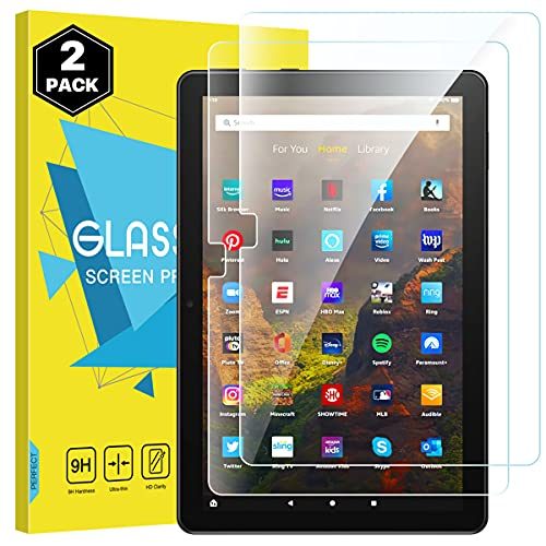 MoKo Screen Protector Compatible with All-New Fire HD 10 2021/ Fire HD 10...