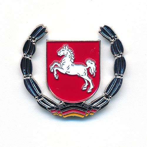hegibaer Land Niedersachsen Wappen Hannover Brocken Deutschland Badge Pin Anstecker 0918