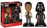Funko - Figurine Star Wars Episode 7 - Double Pack Bobble-head - Finn Et Kylo Ren 18cm - 08498030701...