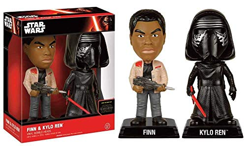 Funko - Figurine Star Wars Episode 7 - Double Pack Bobble-head - Finn Et Kylo Ren 18cm - 0849803070144
