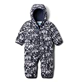 Columbia Kids' Baby Boys Snuggly Bunny Bunting, Nocturnal Critter Print, 0-3 Months