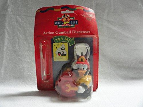Review Donald Duck As a Fireman Action Gumball Dispenser