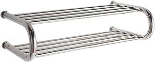 Drvkn Secador de Toallas, Radiador Toallero Eléctrico (Medidas 615 X 180 mm) 99 Watios * Bajo Consumo,Secatoallas En Color Plata, para Baños