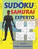 Sudoku Samurai Experto - Volumen 4: Juegos De Lógica Para Adultos