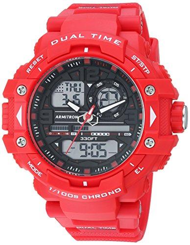 Armitron Armbanduhr Uhr Herren Rot
