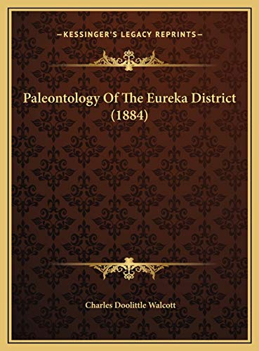 Paleontology Of The Eureka District (1884)