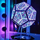 Infinity Dodecahedron Color Art Light Night...