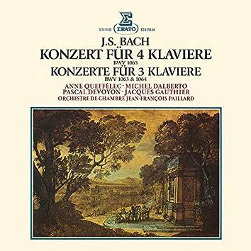Bach: Konzerte für 3 und 4 Klaviere, BWV 1063, 1064 & 1065