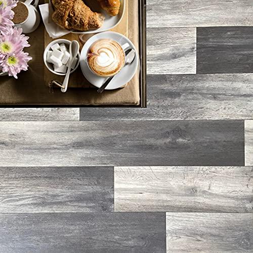 Pavimento in pvc effetto legno Altezza 100 cm pavimento pvc legno per interno esterno PREZZO AL MQ! pavimento pvc parquet alta resistenza adatto a tutti gli spazi abitativi (ALPI OAK 106L)