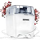 Duronic Ice Cream Maker IM540 | Create Homemade Frozen Desserts like Gelato, Sorbet