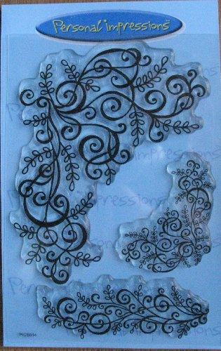 Art Stamps A6 Sue Dix tourbillons et Kit de Tampon