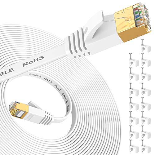 Cable Ethernet Cat7 de 10m, cable de red de Internet de alta...