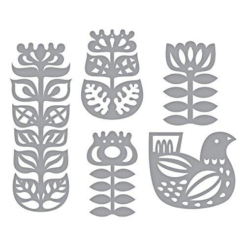 Spellbinders Shapeabilities Nordic Floral Etched/Wafer Thin Die