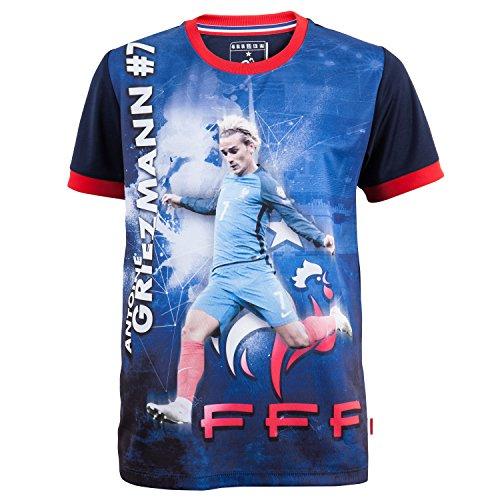 Frankreich Fußballtrikot FFF – Antoine Griezmann – Offizielle Kollektion für Kinder für 4-Jährige blau