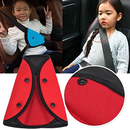 Kungfu Mall Kind Sicherheit Abdeckung Bügel Gurt Auto Einstellbar Pad für Kinder Sitz Gürtel Sicherheitsgurt Clip