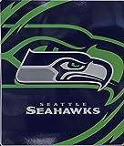 Northwest NFL Seattle Seahawks Queen Size Royal Plush Raschel Blanket