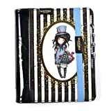 Gorjuss Santoro Stripes - Agenda Organizer in PVC, Motivo: The Hatter 764GJ01