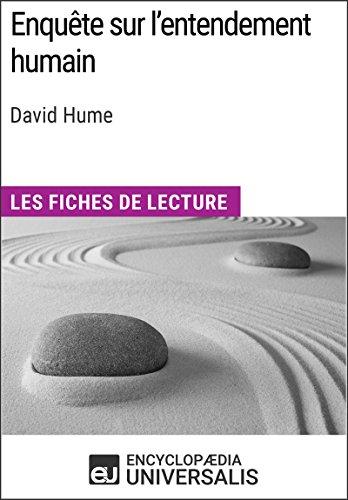 Enquête sur l'entendement humain de David Hume: Les Fiches de lecture d'Universalis