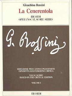 La Cenerentola, Volume 1 & 2: Vocal Score