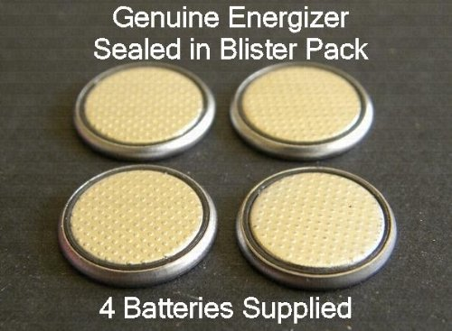 Energizer Vier (4) X CR2012Lithium-Knopfzelle 3V Blister verpackt