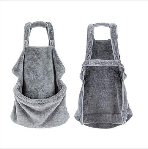 Duanin - Bolsa de transporte para mascotas, cómoda bolsa de hombro manos libres para gatos y perros, se utiliza para llevar cachorros y gatos