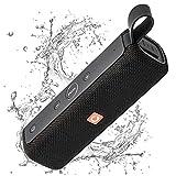 DOSS E-Go2 Bluetooth Lautsprecher Soundbox mit Dual-Treiber besserem Bass IPX6 Wasserdicht Tragbar...