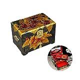 HAIHF Laque Boîte à Bijoux, Nacre Asiatique Laque Fleurs de Cerisier Bijoux en Bois Cas Trinket Keepsake Treasure Box Cadeau...