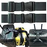 2pcs Two Add a Bag Luggage Set Strap Travel Luggage Suitcase Adjustable Belt
